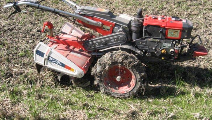 What is a lawn tiller