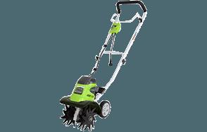 Greenworks 10-Inch 8 Amp Corded Tiller