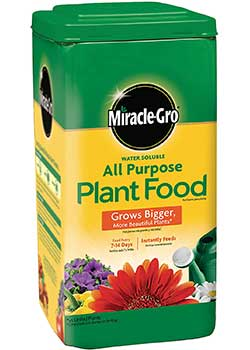 Miracle-Gro Water-Soluble All-Purpose Plant Food