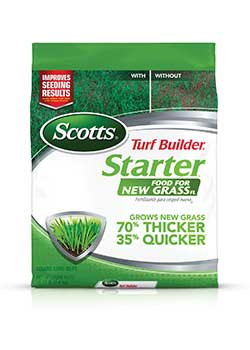 Scotts Turf Builder Starter Food for Lawn Fertilizer
