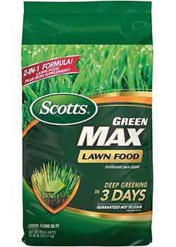 Scotts Green Max Lawn Food Fertilizer